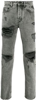 Marcelo Burlon County of Milan ripped jeans