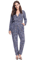 ELOQUII Plus Size Printed Wrap Jumpsuit