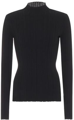 Acne Studios Ribbed-knit cotton-blend sweater