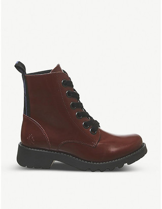 Fly London Ragi leather ankle boots