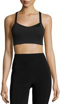 Brooks UpRise Crossback Sports Bra (A/B), Black