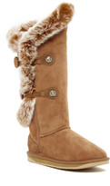 Australia Luxe Collective Nordic Angel Extra Tall Genuine Rabbit Fur and Shearling Boot