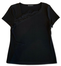 INC International Concepts Inc Asymmetrical Lace T-Shirt, Created for Macy's