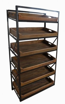 Ctr Imports Earlwood Bakers Shelving Unit