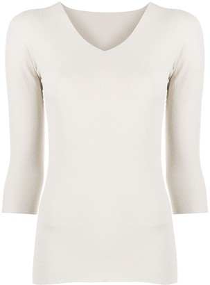 Giorgio Armani Slim-Fit Knitted Top