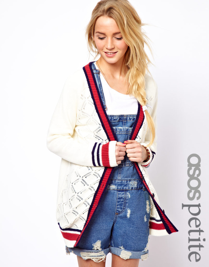 Asos Exclusive Varsity Cardigan