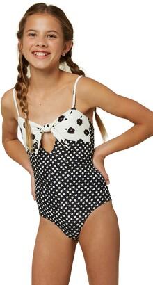 O'Neill Ella Daisy Print One-Piece Swimsuit