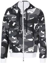 Haculla Witchslap reversible camouflage hoodie