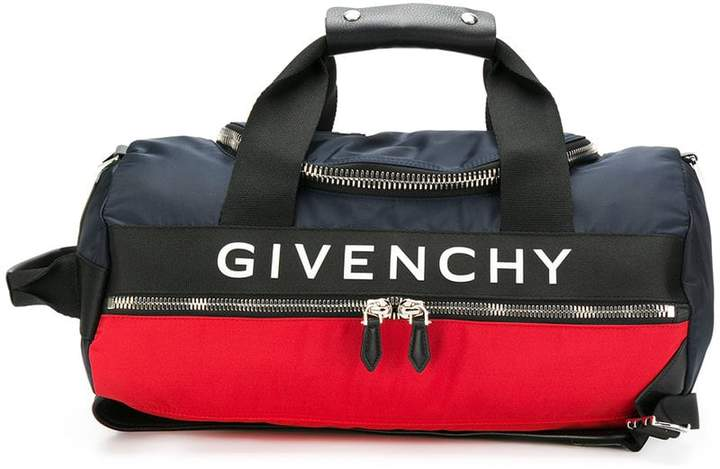 Givenchy logo web panel backpack