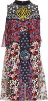 Mary Katrantzou Valentina floral silk dress