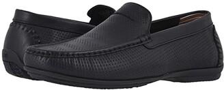 Stacy Adams Cirill Moc Toe Slip-On (Black) Men's Shoes