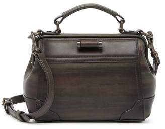 Frye Charlie Leather Frame Satchel