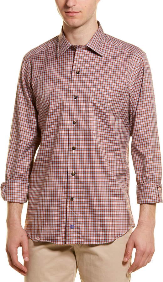 David Donahue Casual Woven Shirt