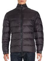 Saks Fifth Avenue Moto Down Quilted Jacket