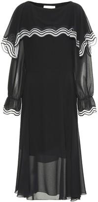 See by Chloe Georgette midi dress