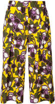 P.A.R.O.S.H. floral cropped trousers
