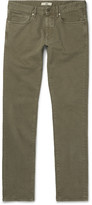 Incotex - Slim-fit Stretch-cotton Twill Trousers