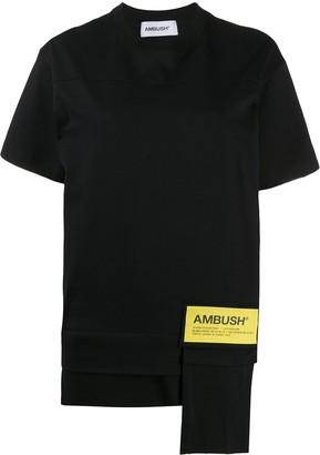 Ambush logo patch short-sleeved T-shirt