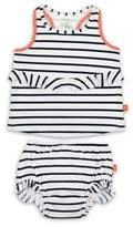 Lassig LassigTM Size 12M 2-Piece Sailor Tankini Set in Navy