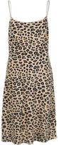Equipment animal print dress - women - Silk - L