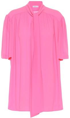 Balenciaga CrApe de chine blouse