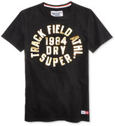 Superdry Men's Trackster Trophy Graphic-Print Cotton T-Shirt