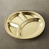 CB2 Gold Divided Platter