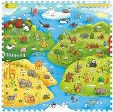Creative Baby I-mat: My Animal World (9 Pcs)