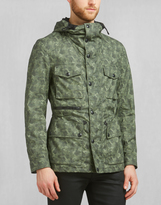 Belstaff Aberford Printed Jacket Pale Military