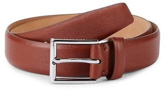 Cole Haan Textured Leather Belt
