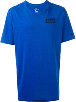 Nike logo T-shirt - men - Cotton/Polyester/Viscose - S