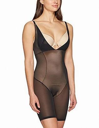 Arabella Women's Firm Control Open Bust Bodysuit Shapewear