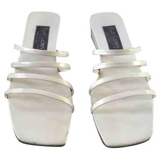 Ralph Lauren White Patent leather Sandals