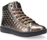 Geox 'Creamy 14' Quilted High Top Sneaker (Toddler, Little Kid & Big Kid)