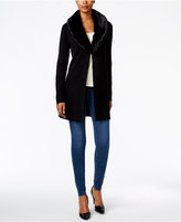 Charter Club Faux-Fur-Collar Cardigan, Only at Macy's