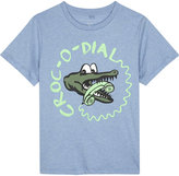 Stella Mccartney Croc-o-dial Cotton T-shirt 4-14 Years