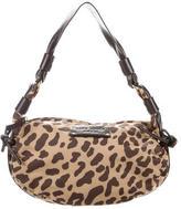 Kate Spade Leather-Trimmed Printed Shoulder Bag