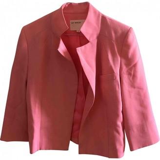 Gat Rimon Pink Polyester Jackets