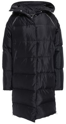 Maje Quilted Shell Hooded Down Coat
