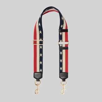 Marc Jacobs The Stars and Stripes Webbing Strap