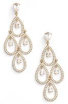Nadri Women's Crystal Chandelier Earrings