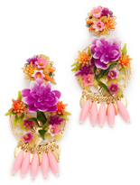 Mercedes Salazar Rosita Mora Clip On Earrings
