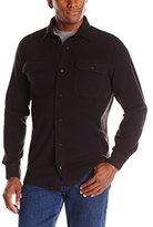 Wrangler Authentics Mens Long Sleeve Fleece Shirt
