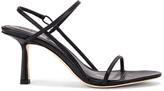 Studio Amelia 2.3 Slingback Heel in Black Nappa Leather | FWRD