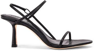 Studio Amelia 2.3 Slingback Heel in Black Nappa Leather   FWRD