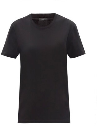 Joseph Logo-print Cotton-jersey T-shirt - Black