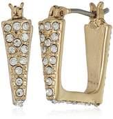 Jessica Simpson Square Huggie Earrings