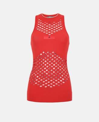 adidas by Stella McCartney Stella McCartney red tennis tank