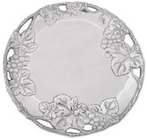 Arthur Court Grape Round Aluminum Plate