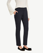 Ann Taylor The Petite Ankle Pant in Stripes - Devin Fit
